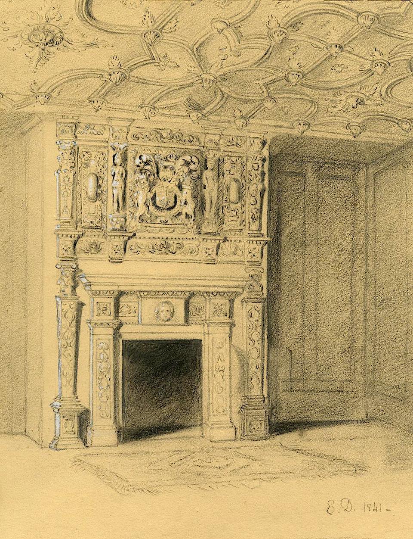 inside house